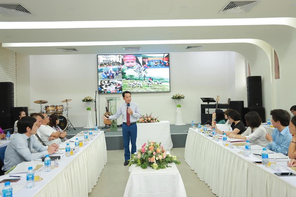 Mục Sư Nam Quốc Trung chia sẻ về sự hình thành tại Aquila Center.