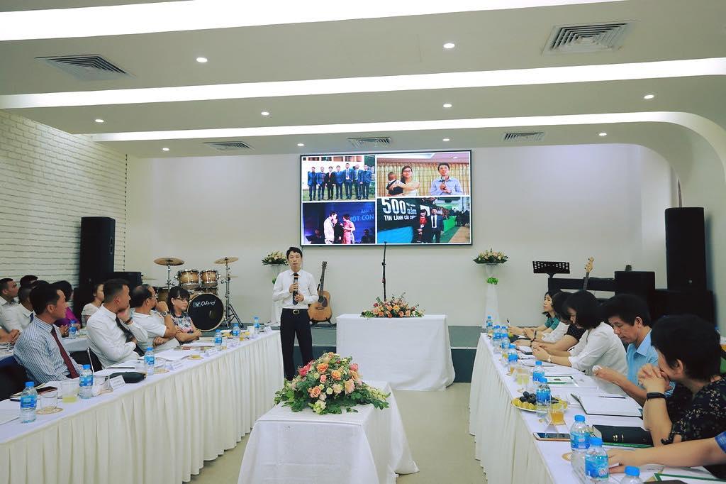 Quách Việt Hưng, Giám đốc doanh nghiệp, cựu học viên trại cai nghiện 02 gặp Chúa trong thời gian ở trại 02.