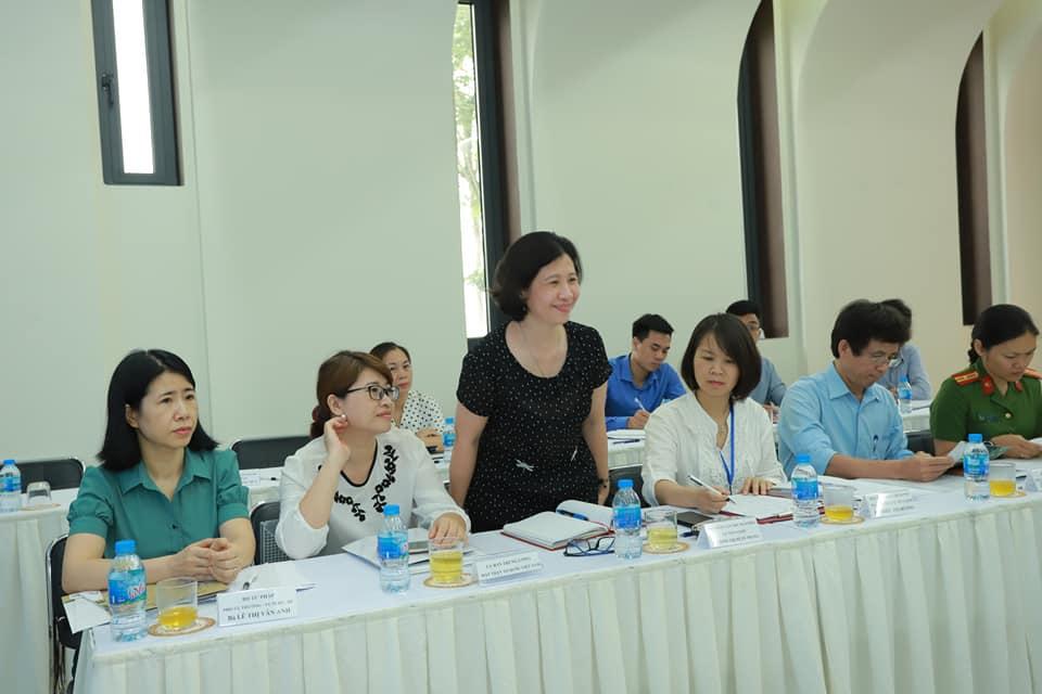 Bà Đinh Thị Xuân Trang, Phó Vụ Trưởng Vụ Tôn giáo, Ban Dân vận Trung Ương.